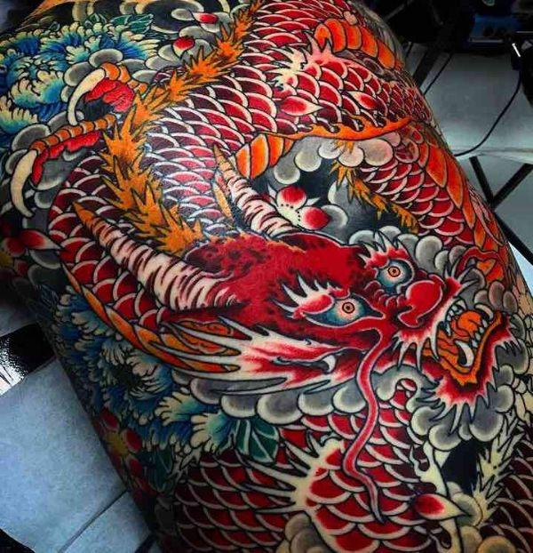 Japanese Dragon Tattoo Ideas Drawing