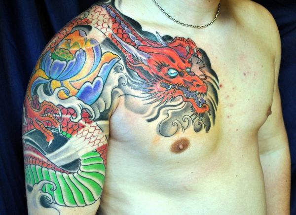 Japanese Dragon Tattoo Ideas
