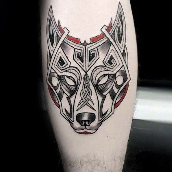Celtic Wolf Tattoos