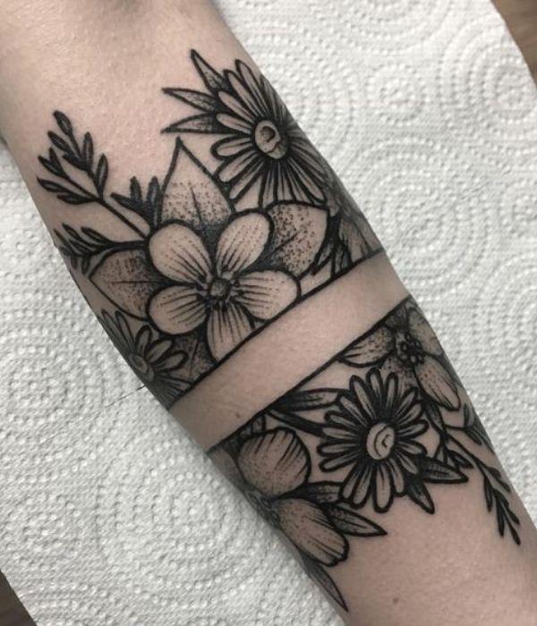 Armband Flower Tattoos