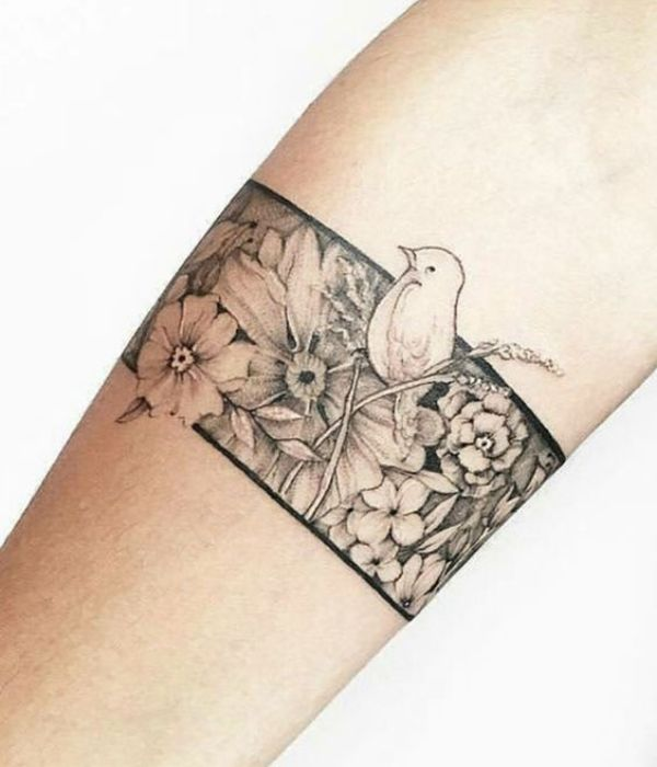 Simple Armband Tattoos Meaning