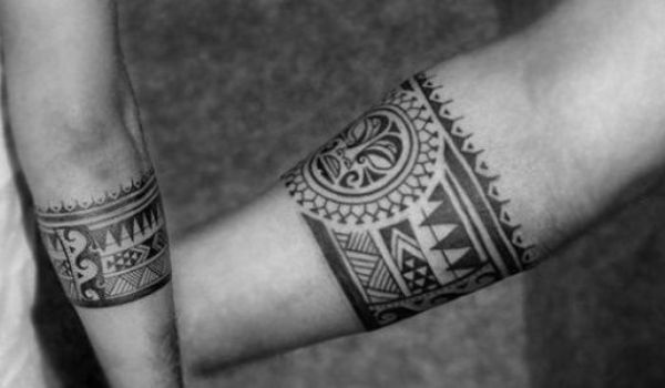 Armband Tattoos For Men's With Meaning