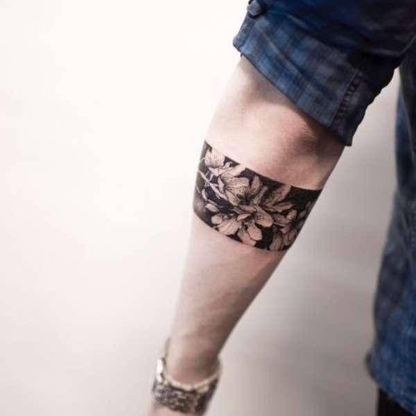 Cherry Blossom Armband Tattoos