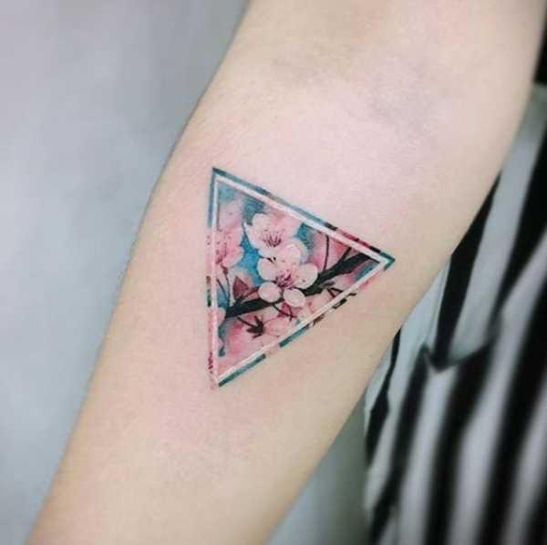 Cherry Blossom Cover Up Tattoos