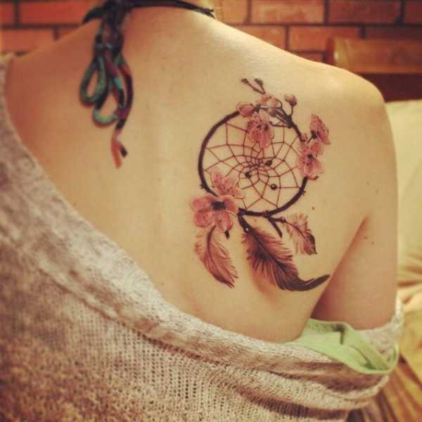 Cherry Blossom In Tattoos
