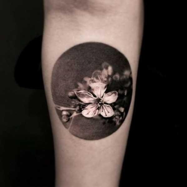 Cherry Blossom Ring Tattoos