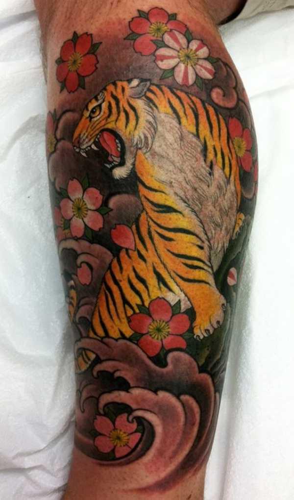 Cherry Blossom Tattoos For Guys