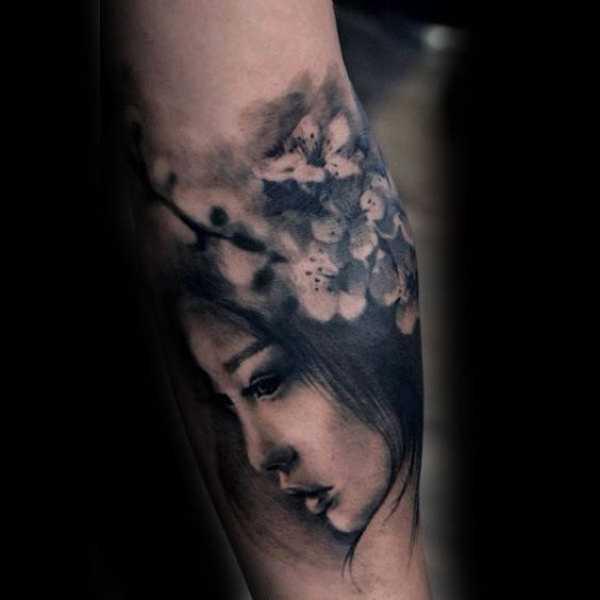 Cherry Blossom Tattoos Forearm