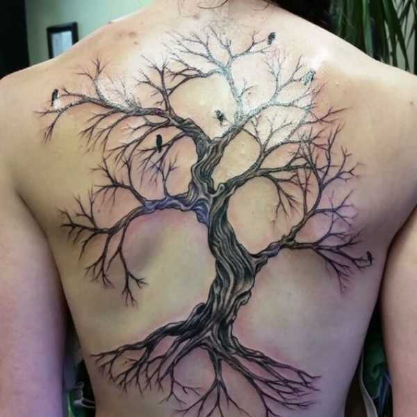 Cherry Blossom Tree Tattoos Meaning