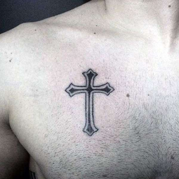 Christian Cross Tattoo