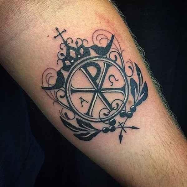 Greek Cross Tattoo