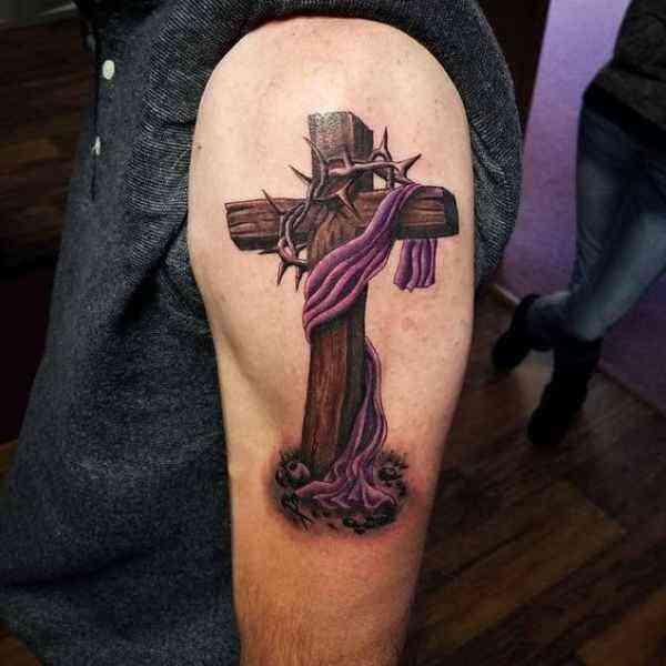 Jerusalem Cross Tattoo