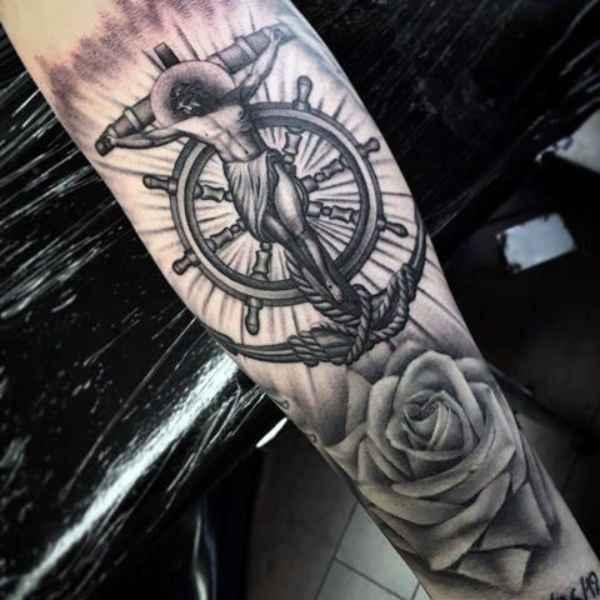 Orthodox Cross Tattoo