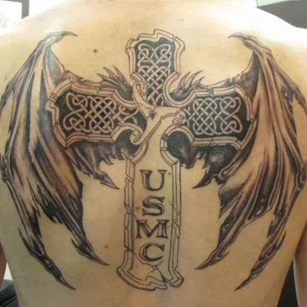 Soldiers Cross Tattoo