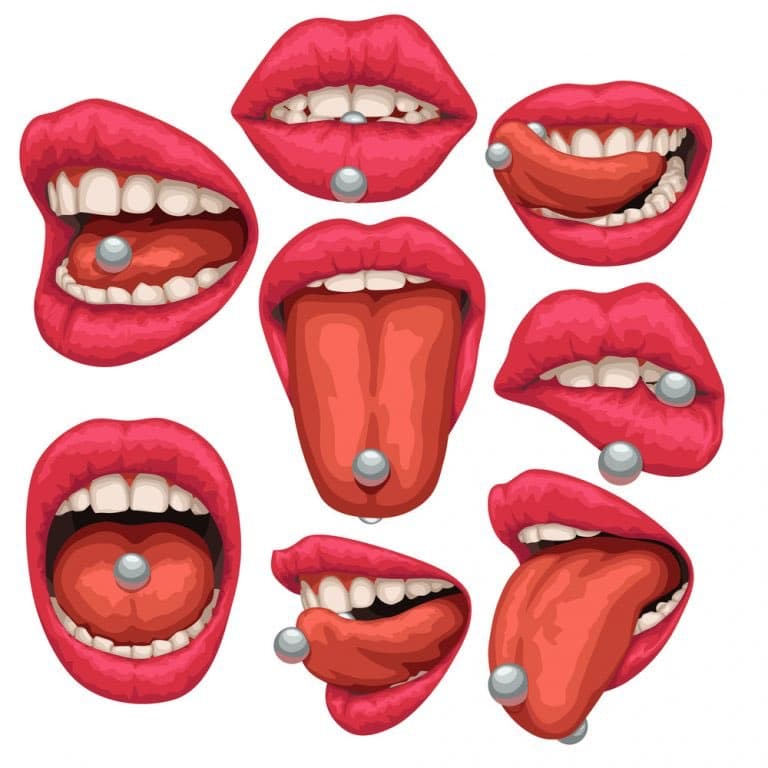 Tongue Piercings Complete Guide With Types Prices And Aftercare