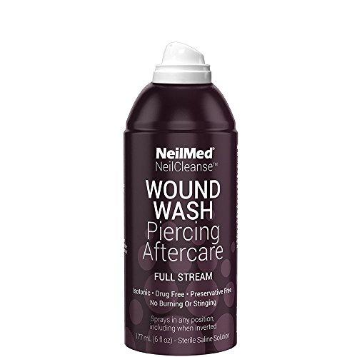 Dermal Piercing Aftercare Wound Wash