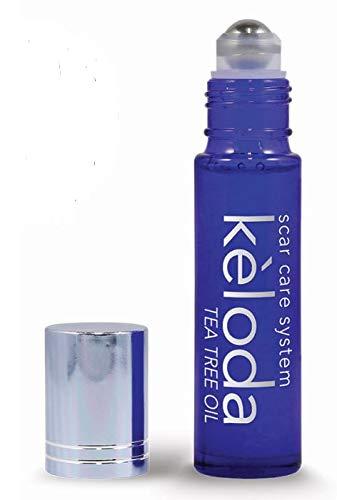 KELODA Scar & Keloid Removal Tea Tree Oil & Massager | For Treatment of Scars &...