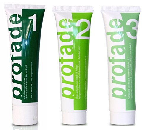 Tattoo Removal Cream 3 Step Action: The Daily Use of Profade Helps De-color...