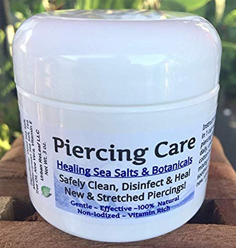 Healing Botanicals for Cartilage Piercings