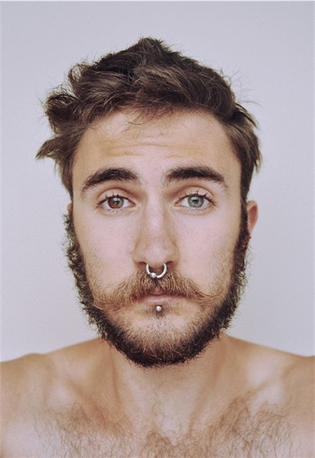 Labret Piercing Men