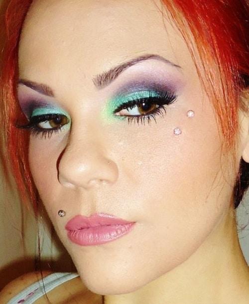 Fierce Vertical Anti Eyebrow Piercing