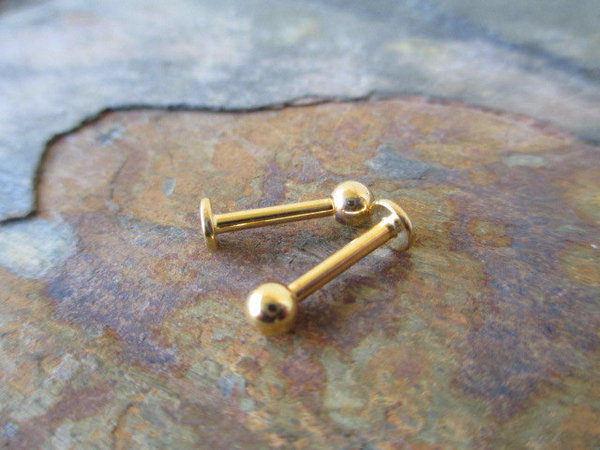 monroe piercing jewelry gold
