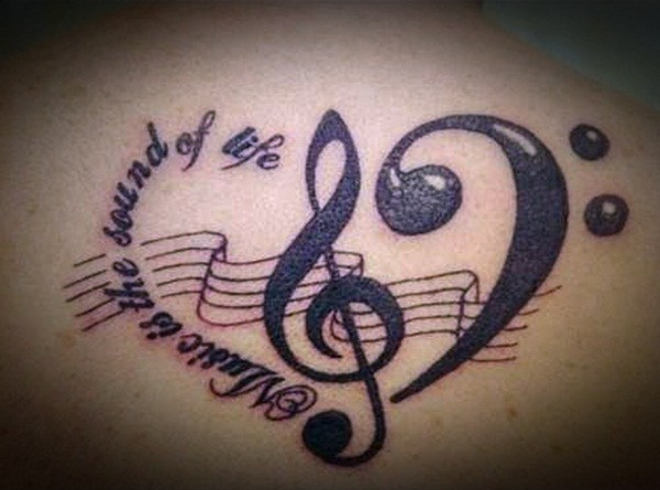 Music meaningful Tattoos