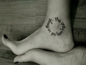 ankle meaningful tattoos