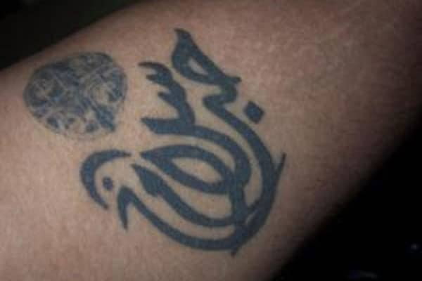 arabic tattoos peace