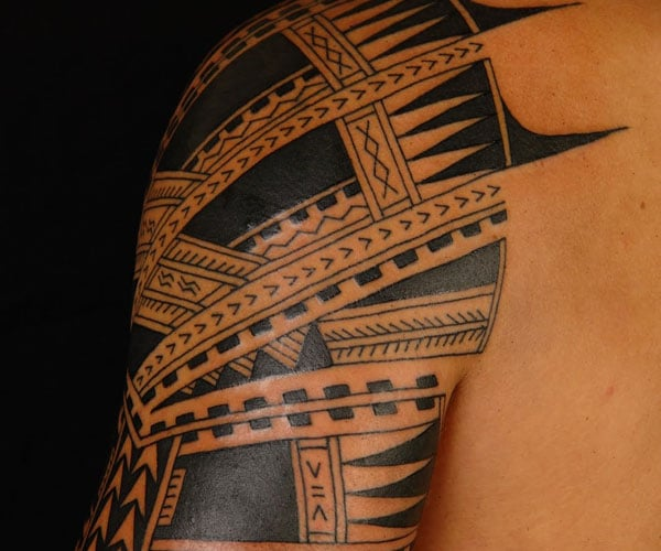 arm tattoo samoan