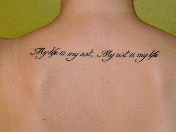 Best Tattoo Quotes About Life Entrancing 110 Short Inspirational Tattoo Quotes Ideas With Pictures
