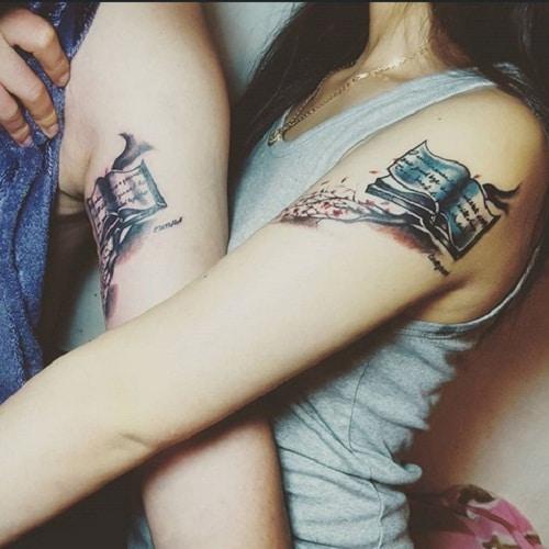 Books Cute Couple Tattoos