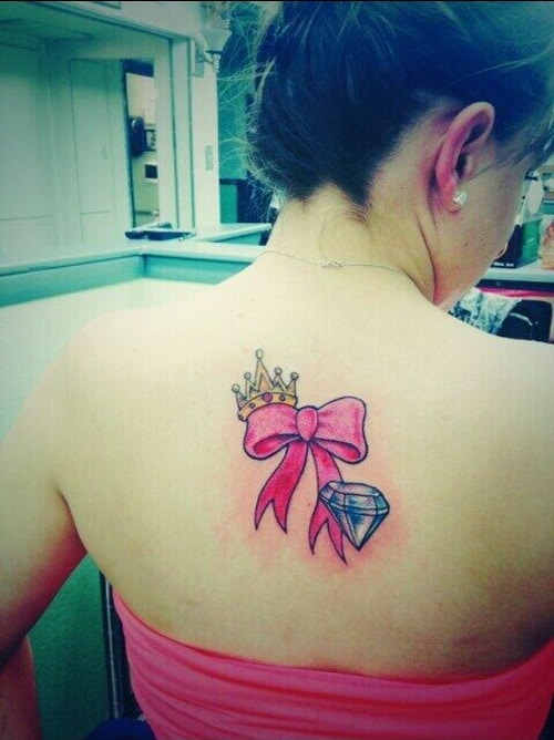 crown-ribbon-diamond-tattoo