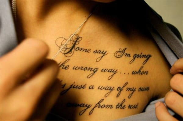 inspiring tattoo quotes