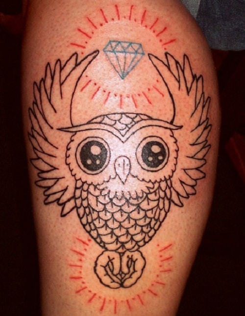owl-diamond-tattoo