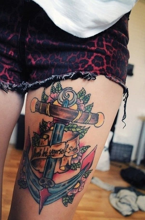 Anchor Tattoo With Quotes