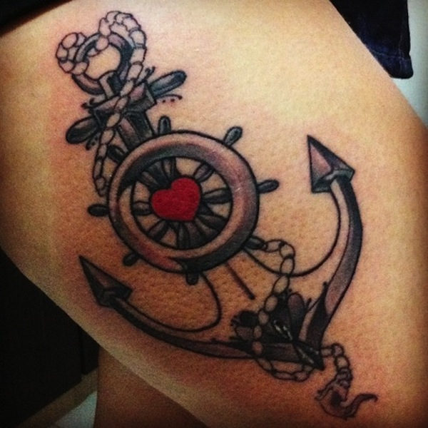 Anchor Tattoos For Guys
