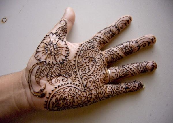 Cool Henna Design
