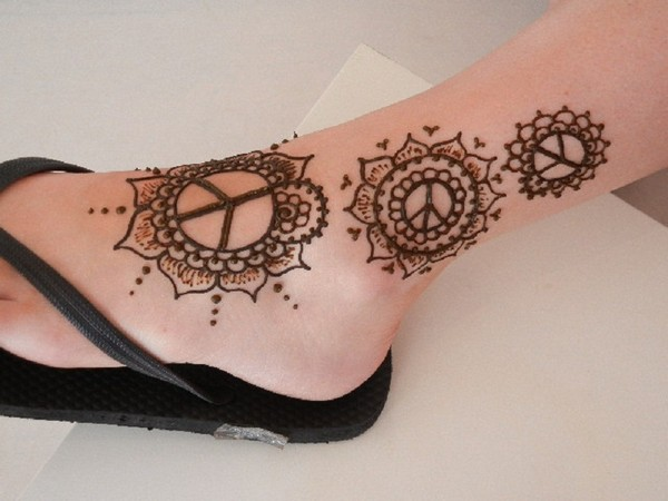 Henna Tattoo Designs For Feet