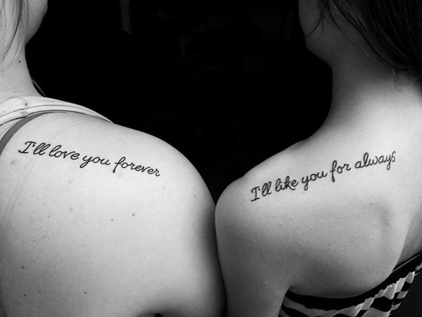 Meaningful Sister Tattoo