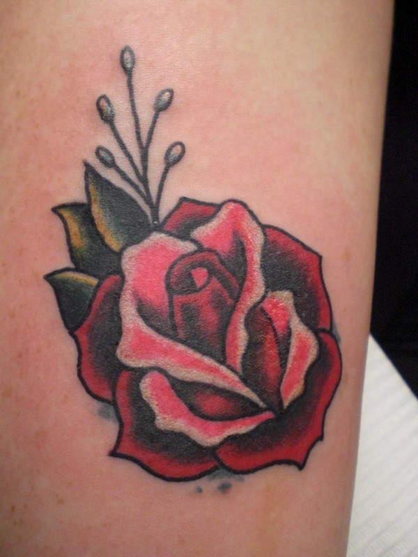 Small Rose Tattoo