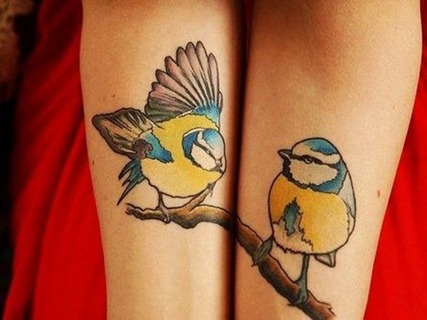 Bird Matching Tattoo Ideas
