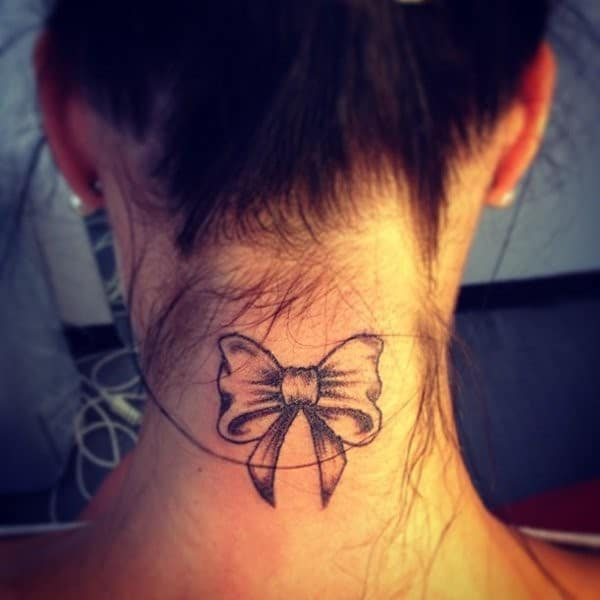 Bow Small Tattoos