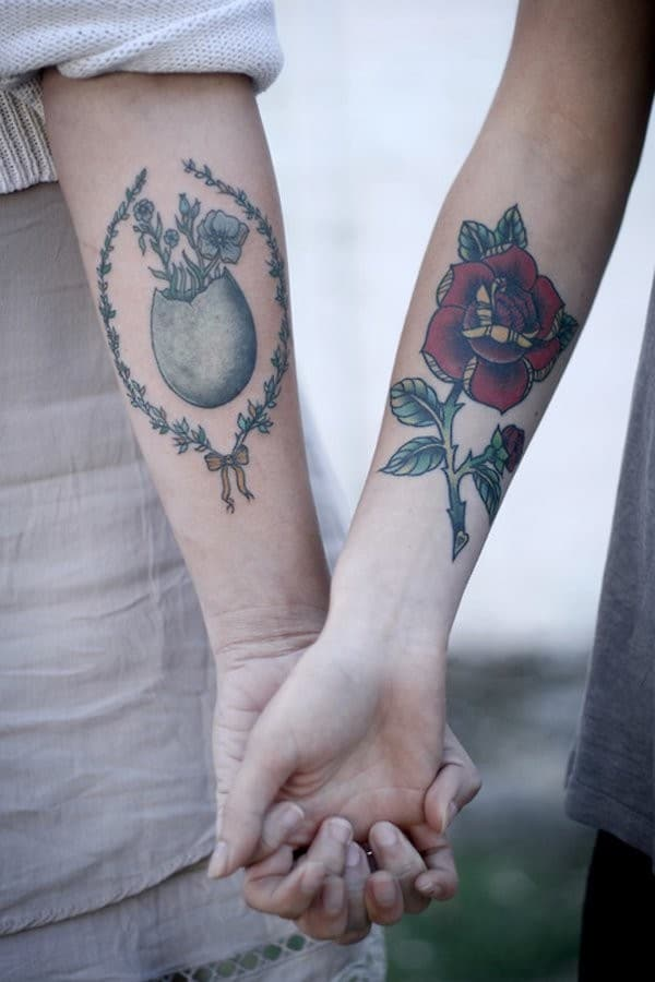 Companion Matching Tattoos