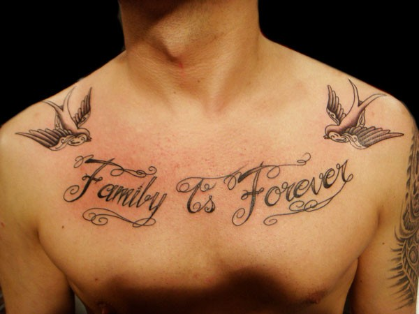 Family Tattoo Ideas For Men