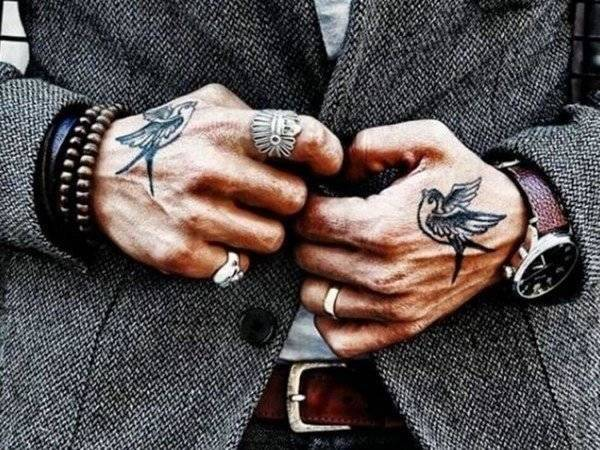 Hand Tattoo Meaning