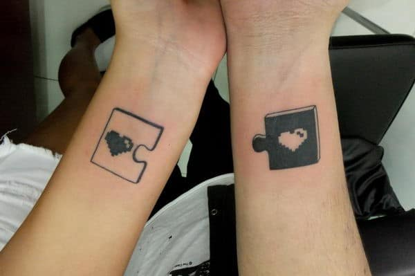 Matching Tattoos Best Friends