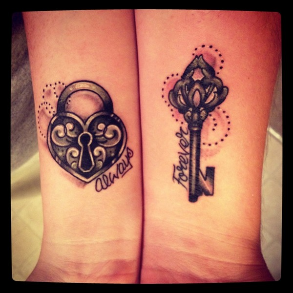 Sisters Forever Tattoo