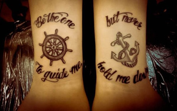 Quotes Matching Tattoos