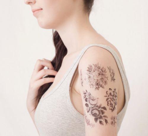 Temporary Tattoos Face